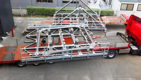 Offshore platform fabricage